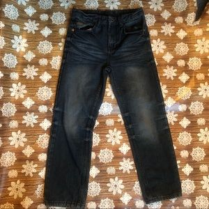 Sean John Boy's Dark Wash Denim 5-Pocket Jeans